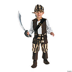 Toddler Boy's Rogue Pirate Costume