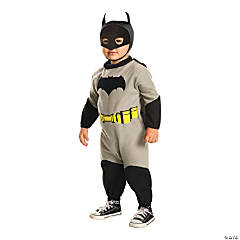 Toddler Boy's EZ-On Romper Batman Costume