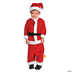Toddler Boy's Santa Costume