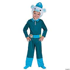 Toddler Classic Octonauts Captain Barnacles Costume - 3T-4T