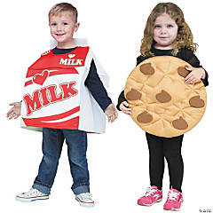 Toddler Cookies & Milk Couples Costumes - 3T-4T