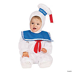 Toddler E-Z On Ghostbusters Stay Puft Marshmallow Man Costume