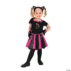 Toddler Girl's Cat Sweetheart Costume