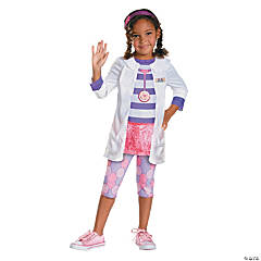 Toddler Girl's Classic Doc Costume - 3T-4T