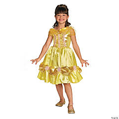 Toddler Girl's Classic Sparkle Disney Princess Beauty & the Beast™ Belle Costume - 3T-4T