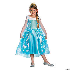 Toddler Girl's Deluxe Disney's Frozen™ Elsa Costume - 3T-4T