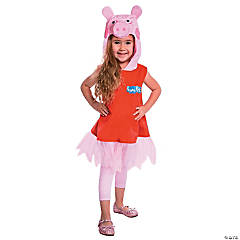Toddler Girl's Deluxe Peppa Pig™ Costume - 2T