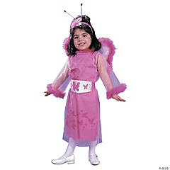 Toddler Girl's Feathery Butterfly Costume
