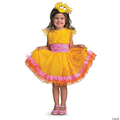 Toddler Girl's Frilly Sesame Street™ Big Bird Costume