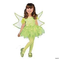 Toddler Girl's Green Batarina Fairy Costume
