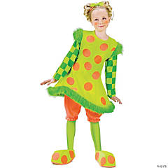 Toddler Girl's Lolli the Clown Costume