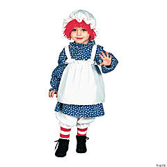 Toddler Girl's Raggedy Ann Costume