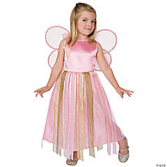 Toddler Girl's Ribbon Fairy Costume
