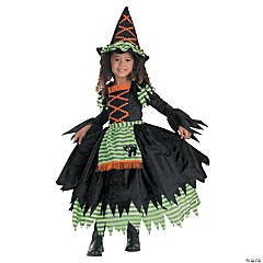 Toddler Girl's Storybook Witch Costume - 3T-4T