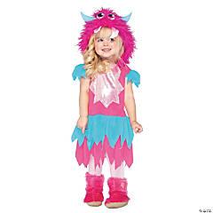 Toddler Girl's Sweetheart Monster Costume