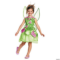 Toddler Girl's Tinker Bell Costume - 3T-4T