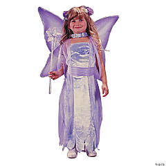 Toddler Girl's Water Color Fairy Costume - 3T-4T