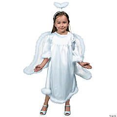 Toddler Girl's Angel Costume