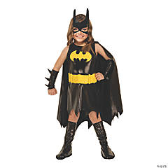 Toddler Girl's Batgirl Halloween Costume