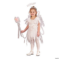 Toddler Girl's Fairy Angel Costume - 3T-4T