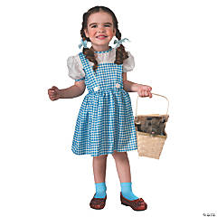 Toddler Girl's Wizard of Oz Dorothy Costume