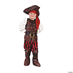 Toddler High Seas Pirate Costume - 3T-4T