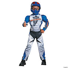 Toddler Muscle Motorcycle Rider Costume - 3T-4T