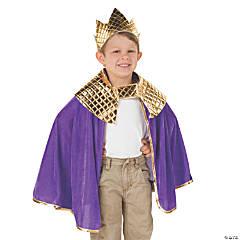 Toddler's Purple Wise Men Costume