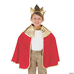 Toddler's Red Wise Men Costume