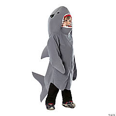 Toddler's Shark Halloween Costume