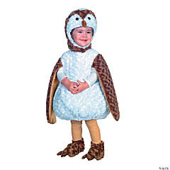 Toddler White Barn Owl Costume - Extra Large