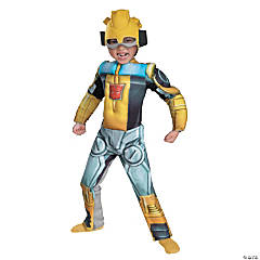 Toddler's Muscle Bumblebee Rescue Bot Costume