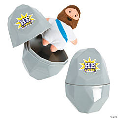 Tomb Toy-Filled Easter Eggs - 12 Pc.