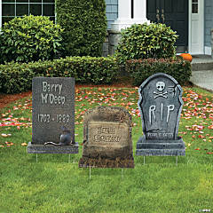 Tombstone Yard Signs