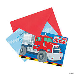 Tonka Postcard Invitations