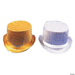 Top Hat Lame Gold