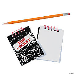 Top Secret Spiral Notebooks