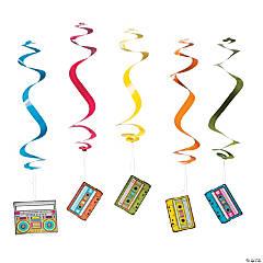 Totally 80s Hanging Swirls