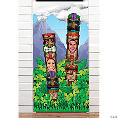 Totem Pole Photo Door Banner