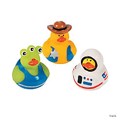 Toy Character Rubber Duckies