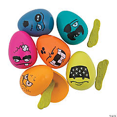 Toy-Filled Rotten Plastic Easter Eggs