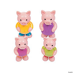Toy Pig Family