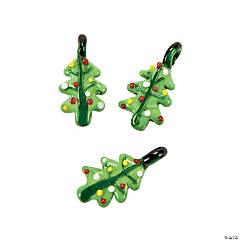 Traditional Christmas Tree Lampwork Charms