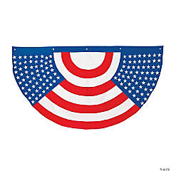 Traditional Patriotic Bunting
