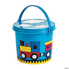 Train Pails with Lid