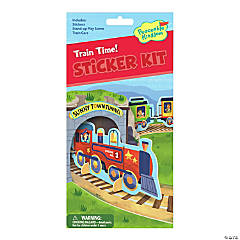 Train Time Quick Sticker Kit