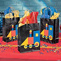 Train Treat Bags Idea
