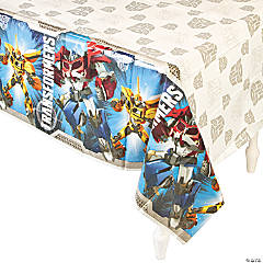Transformers™ Plastic Tablecloth