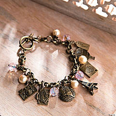 Travel Charm Bracelet Idea