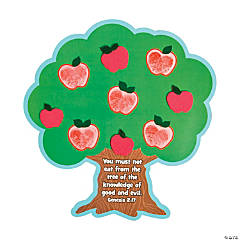 Tree of Knowledge Thumbprint Magnet Craft Kit